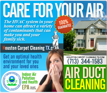 HVAC cleaning and air duct cleaning