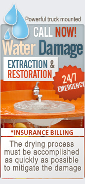 Floods/Water damage restoration