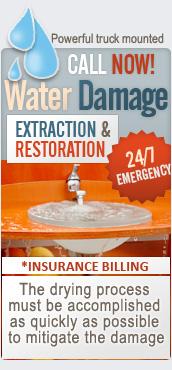 Floods/Water damage restoration